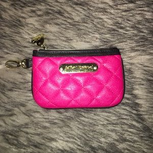 NEW Betsey Johnson coin purse
